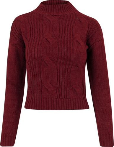 Urban Classics Ladies Short Turtleneck Sweater