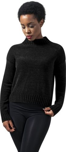 Urban Classics Ladies Chenille Turtleneck Crew