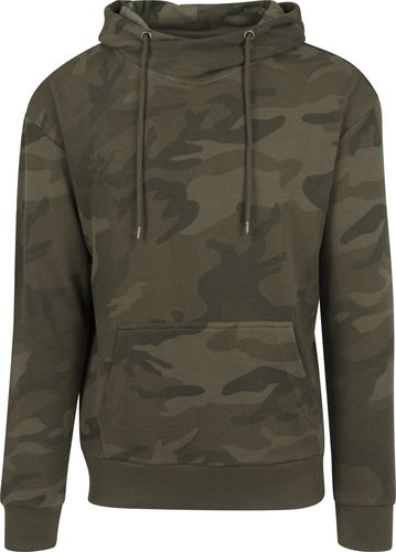 High Neck Camo Hoody
